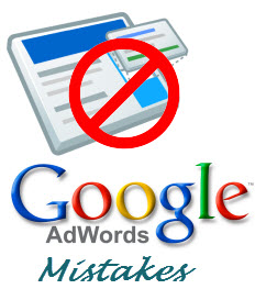 Google Adwords mistakes