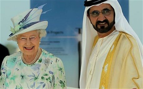 Sheikh Mohammed & Queen Elizabeth