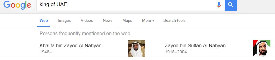 king of uae Google Search
