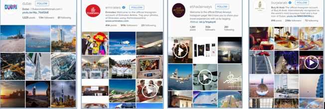 Leading Instagram Profiles of Dubai