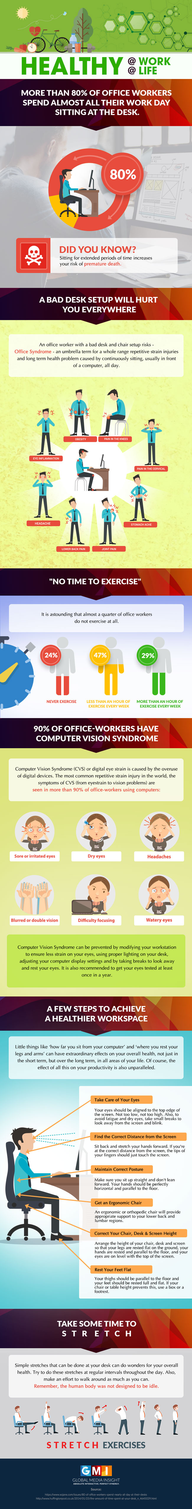 Office-Health-infographics
