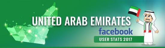 UAE Facebook User Statistics 2017
