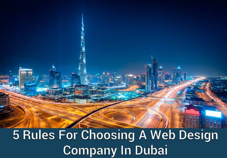 Rules for choosing a web design company in dubai