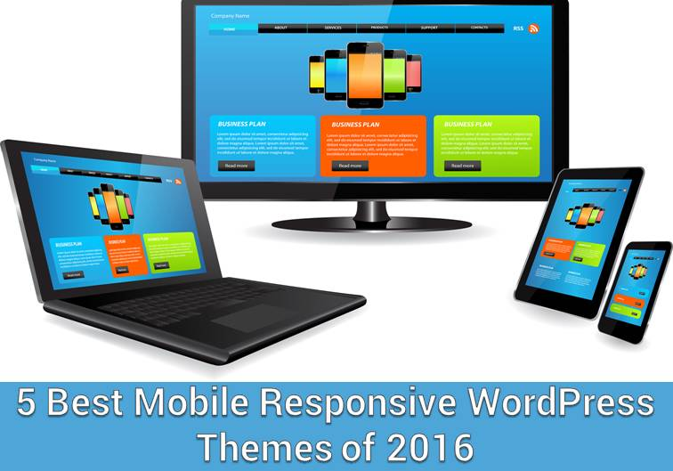 5 Best Mobile Responsive WordPress Themes of 2016