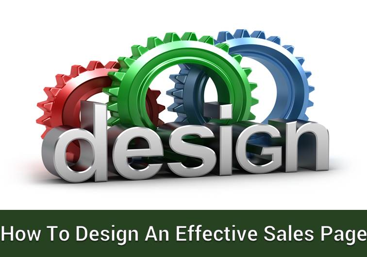 Effective sales page Designing