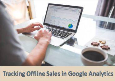 Google Analytics Tracking Offline-Sales