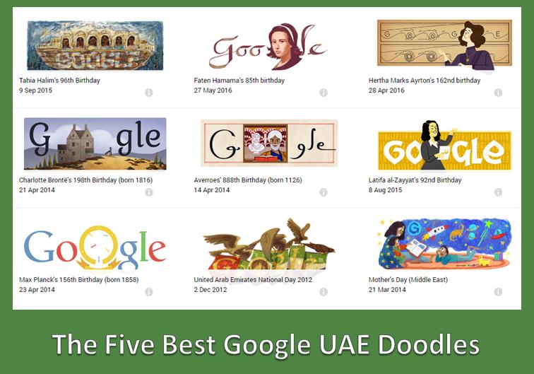 UAE Google Doodle