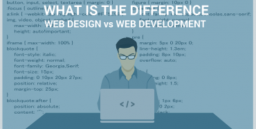 Web Designer Vs Web Development - Image