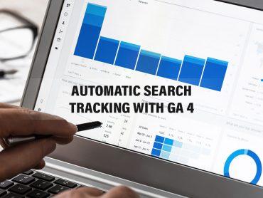 GA4 search tracking