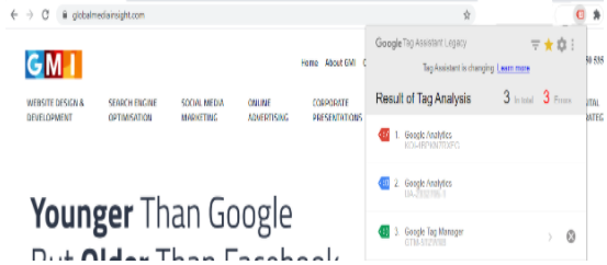 Google Analytics through Google Tag Manager