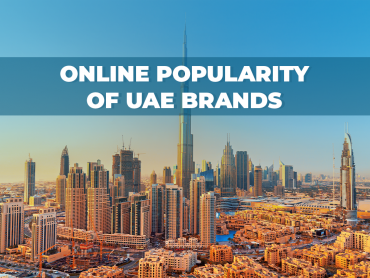 online popularity of uae brands